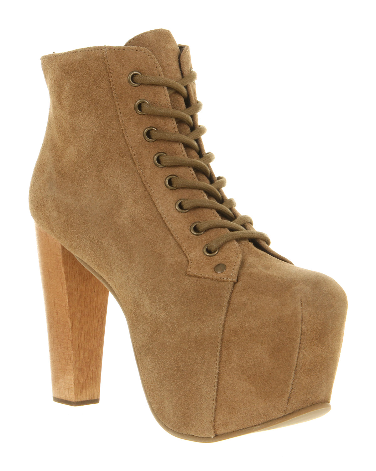 Womens-Jeffrey-Campbell-Lita-Platform-Ankle-Boot-Taupe-Suede-Boots