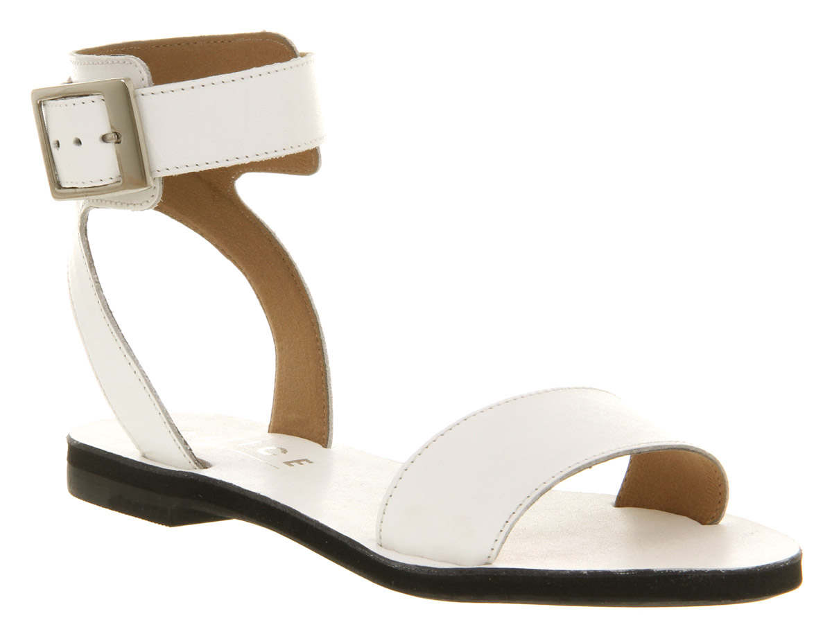 Womens-Office-Girl-Cyber-Sandal-Wht-Lthr-blk-Sandals
