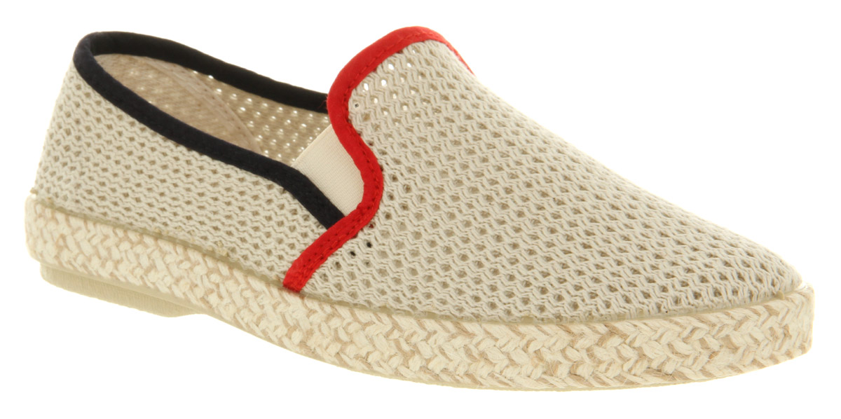 Mens-Koyuk-For-Ask-The-Missus-Akita-Mesh-Slip-On-Beige-Mesh-Casual-Shoes