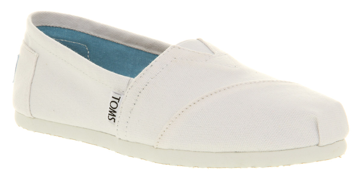 Womens-Toms-Seasonal-Classic-Slip-On-Wht-Can-Wht-Sol-Flats