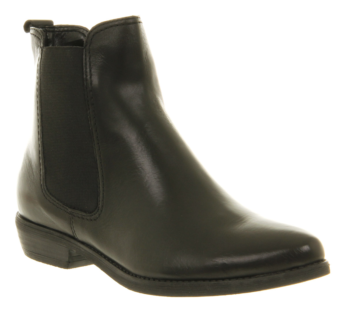 Perfect Westbourne Leather Chelsea Boot Black With Silver Back - Womens From Otterburn Mill Ltd UK