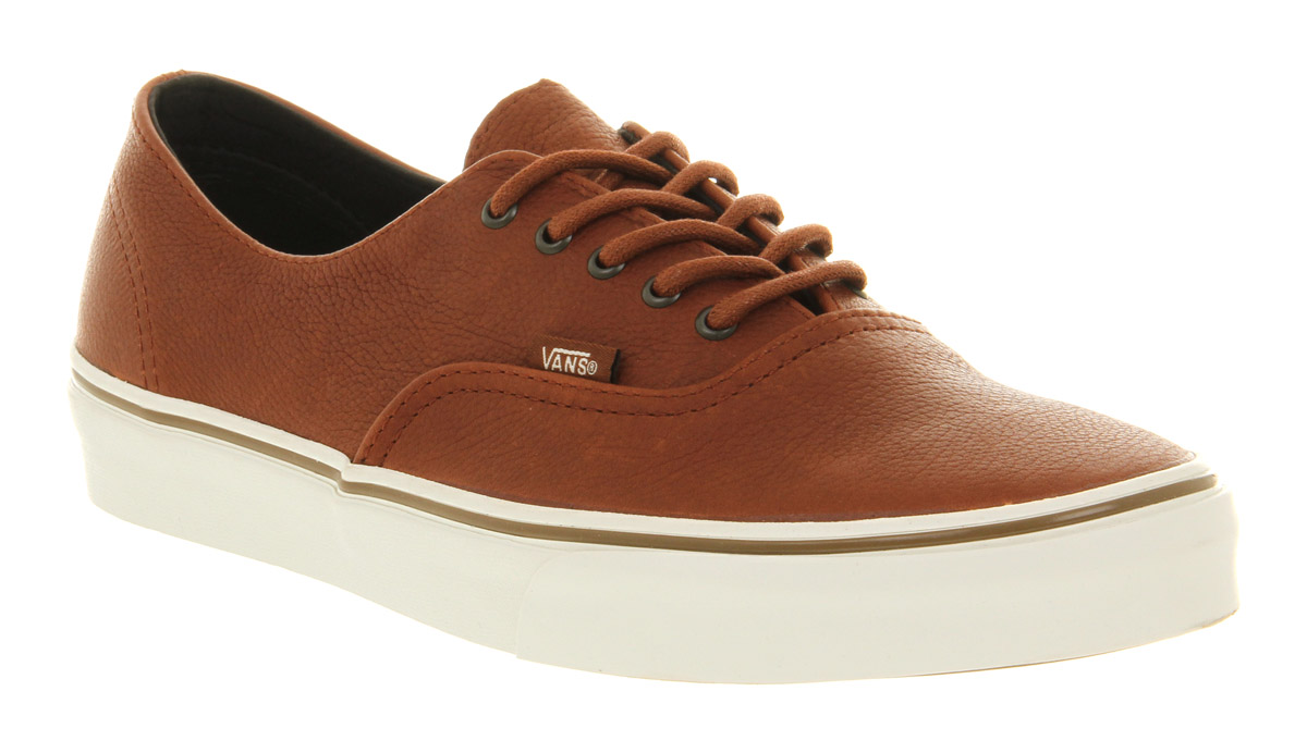 ceb3d4c23d Image is loading Vans-Authentic-Decon-Ca-Nature-Leather-Brown-Sugar-