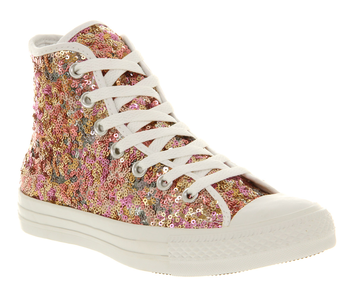 converse with sequins