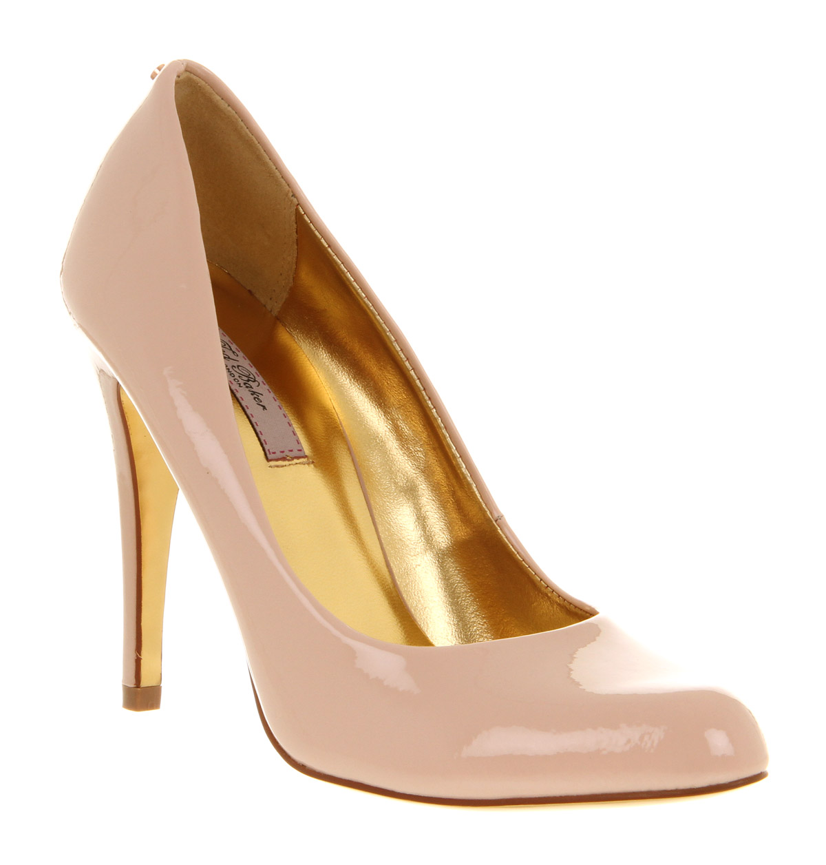 247e50208ba Womens Ted Baker Jaxine 2 Court Shoe Nude Patent Leather Heels