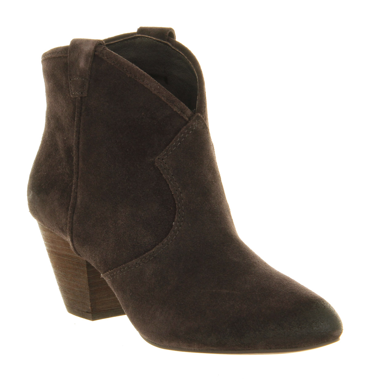 Womens Ash Jalouse Boot Wood Ash Suede Boots Ebay