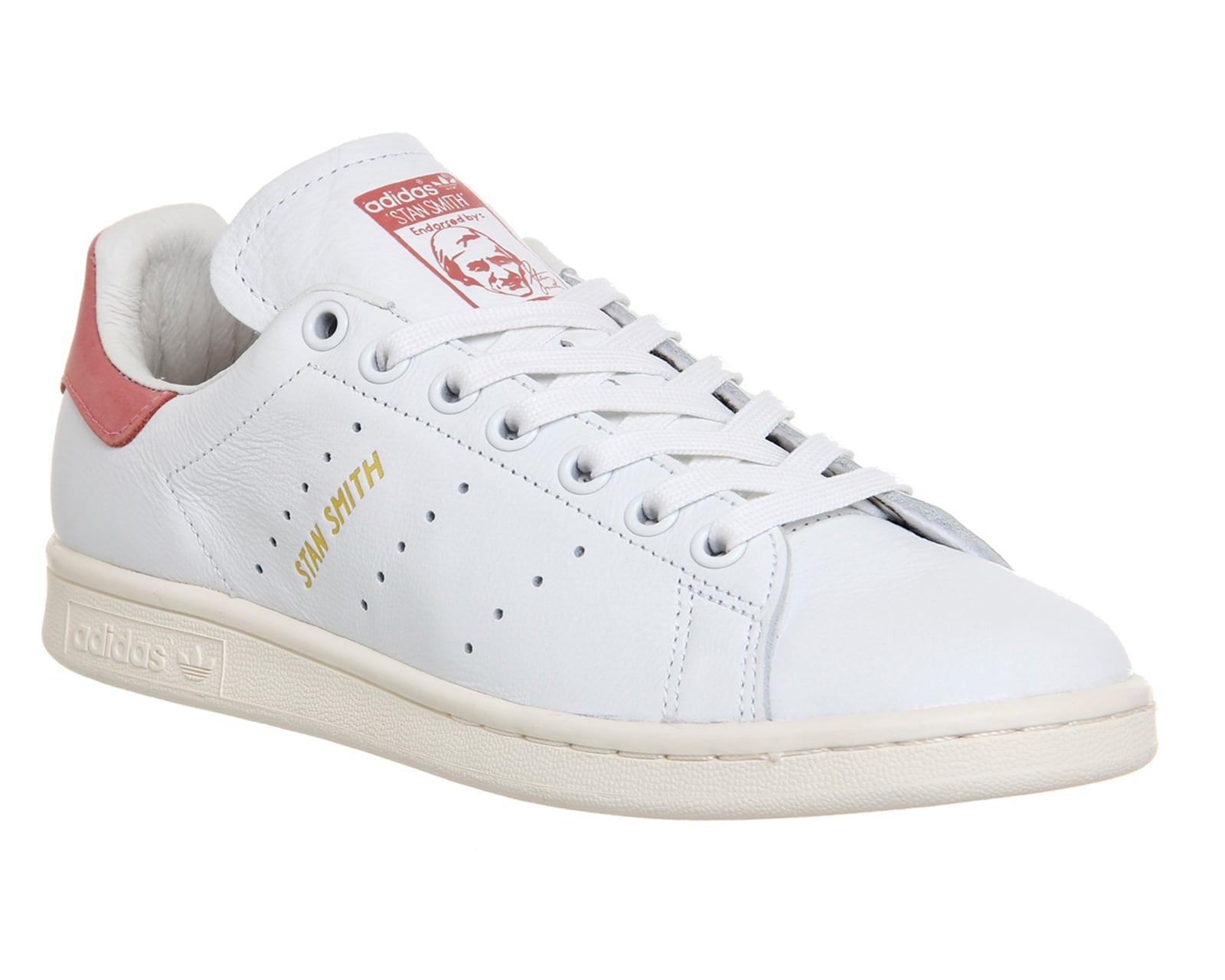 Adidas Stan Smith Bianco Rosa