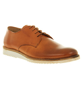 Mens-Office-Hunt-Plain-Gibson-Tan-Leather-Formal-Shoes