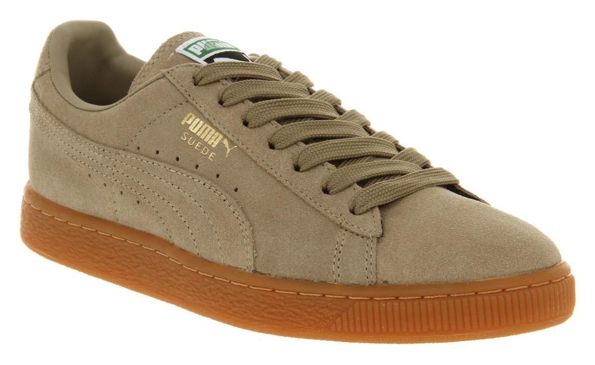 Puma Suede Classic Khaki Gum