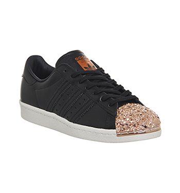 adidas superstar zwart metal toe