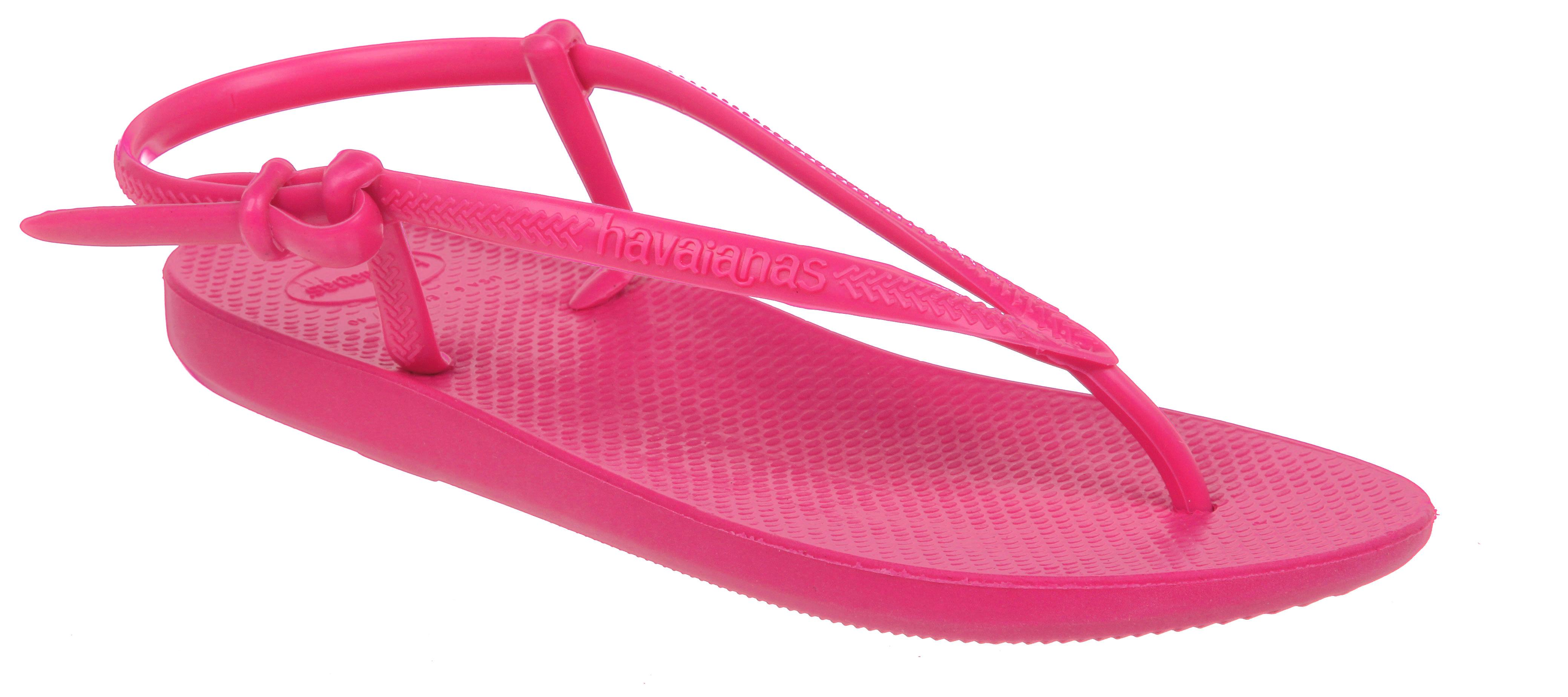 Womens Havaianas Fit Flip-flop Hot Pink Sandals