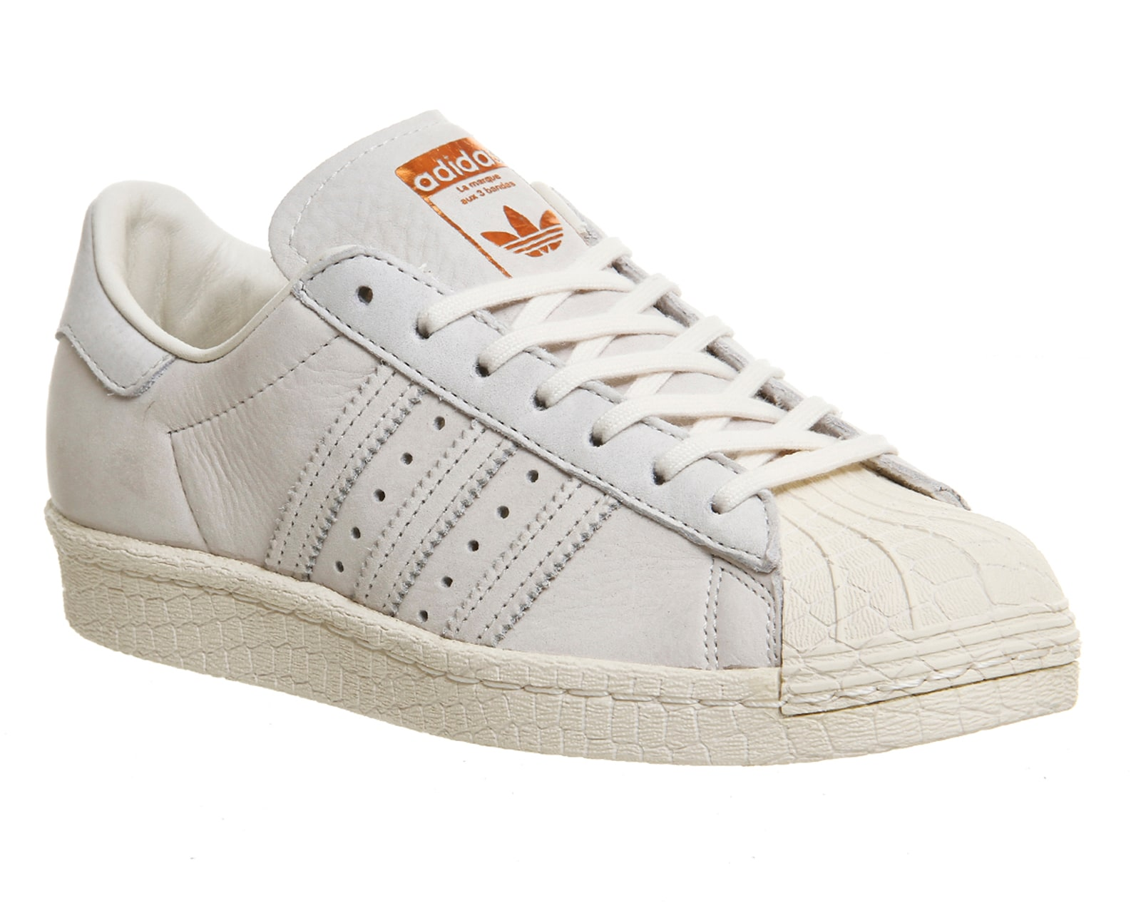 Golden Goose Mens/womens Cheap Superstar Brown White Handmade