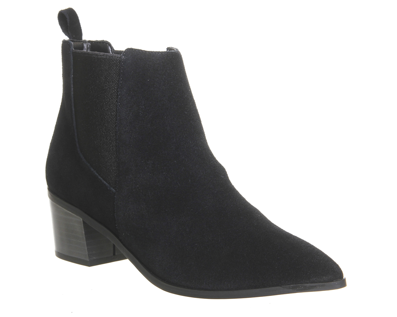 Perfect Black Suede Chelsea Boots - Boots - Shoes U0026 Boots - Women