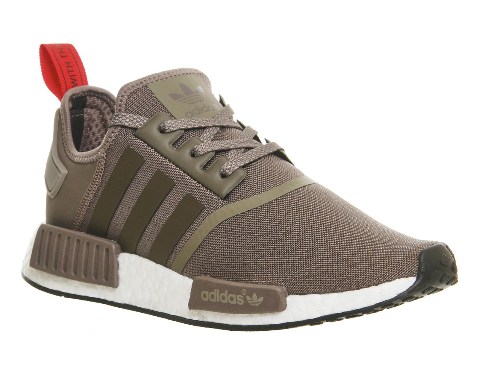 vjnwoa Mens Adidas Nmd Runner TECH EARTH WHITE Trainers Shoes   eBay