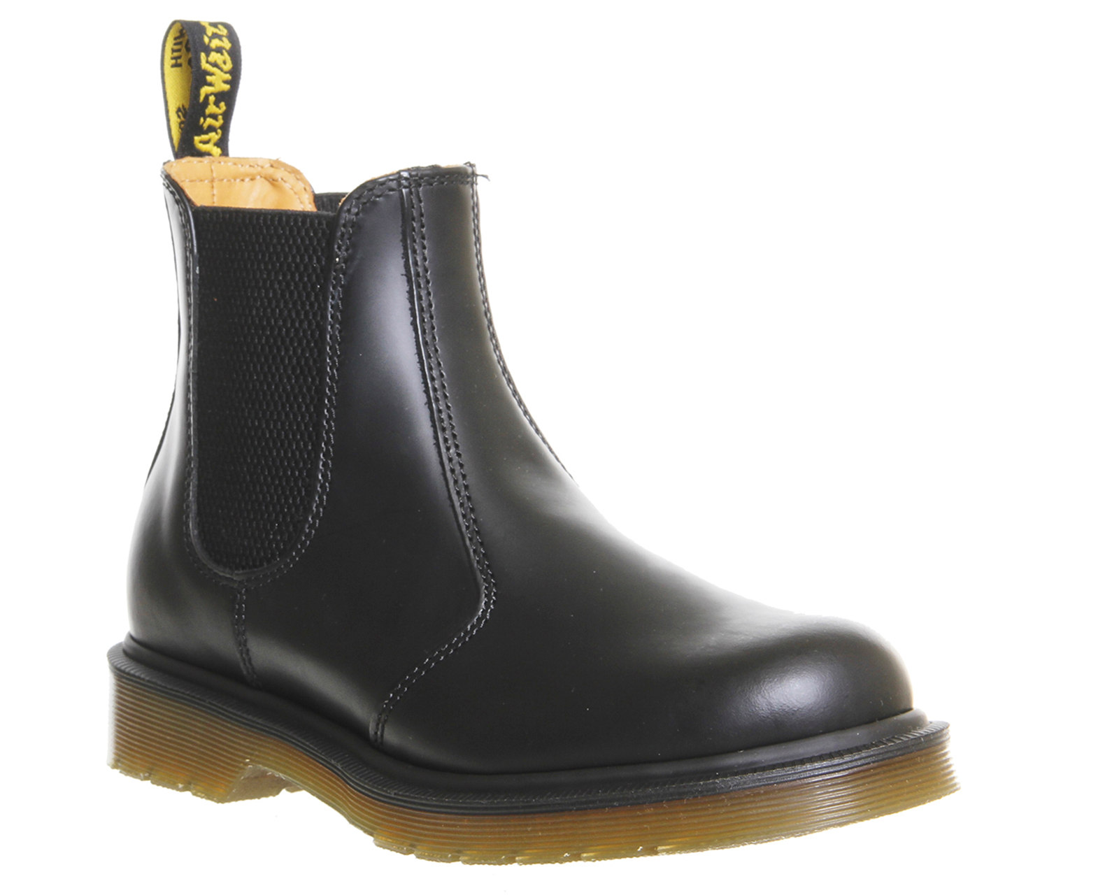 womens dr martens 2976 chelsea boots black leather boots ebay