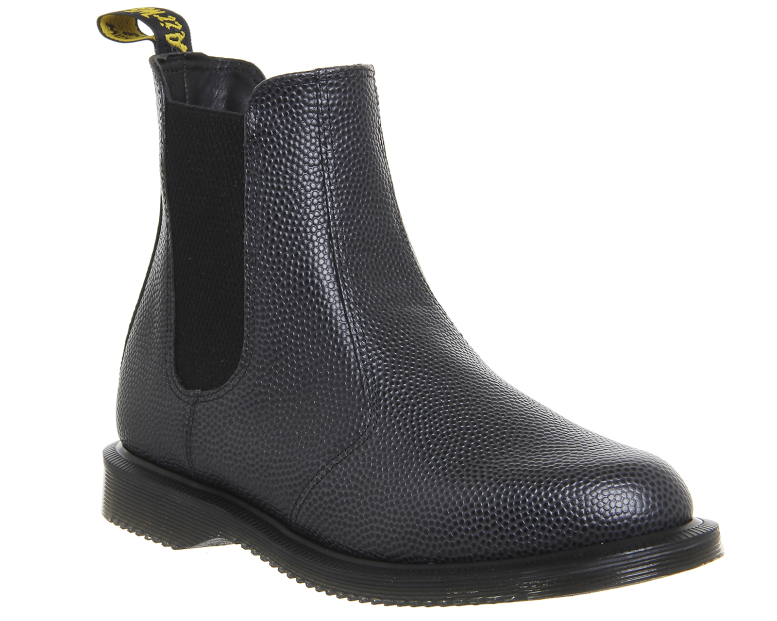 womens dr martens kensington flora black pebble exclusive boots ebay. Black Bedroom Furniture Sets. Home Design Ideas