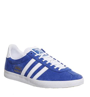 adidas gazelle og blue and white