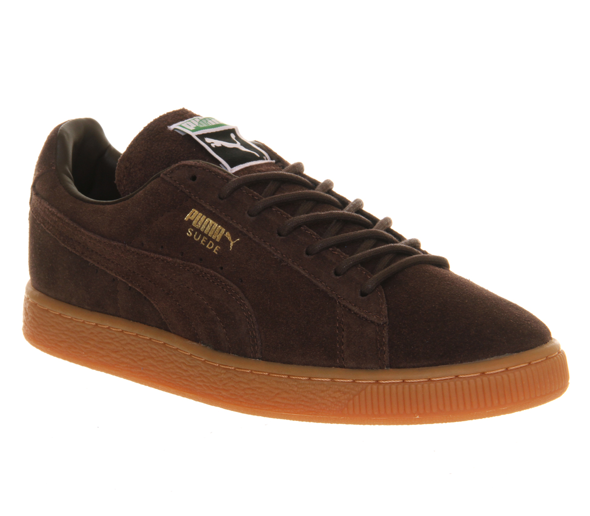 Unisex-Puma-Suede-Classic-CHOCOLATE-GUM-Trainers-Shoes-VH2
