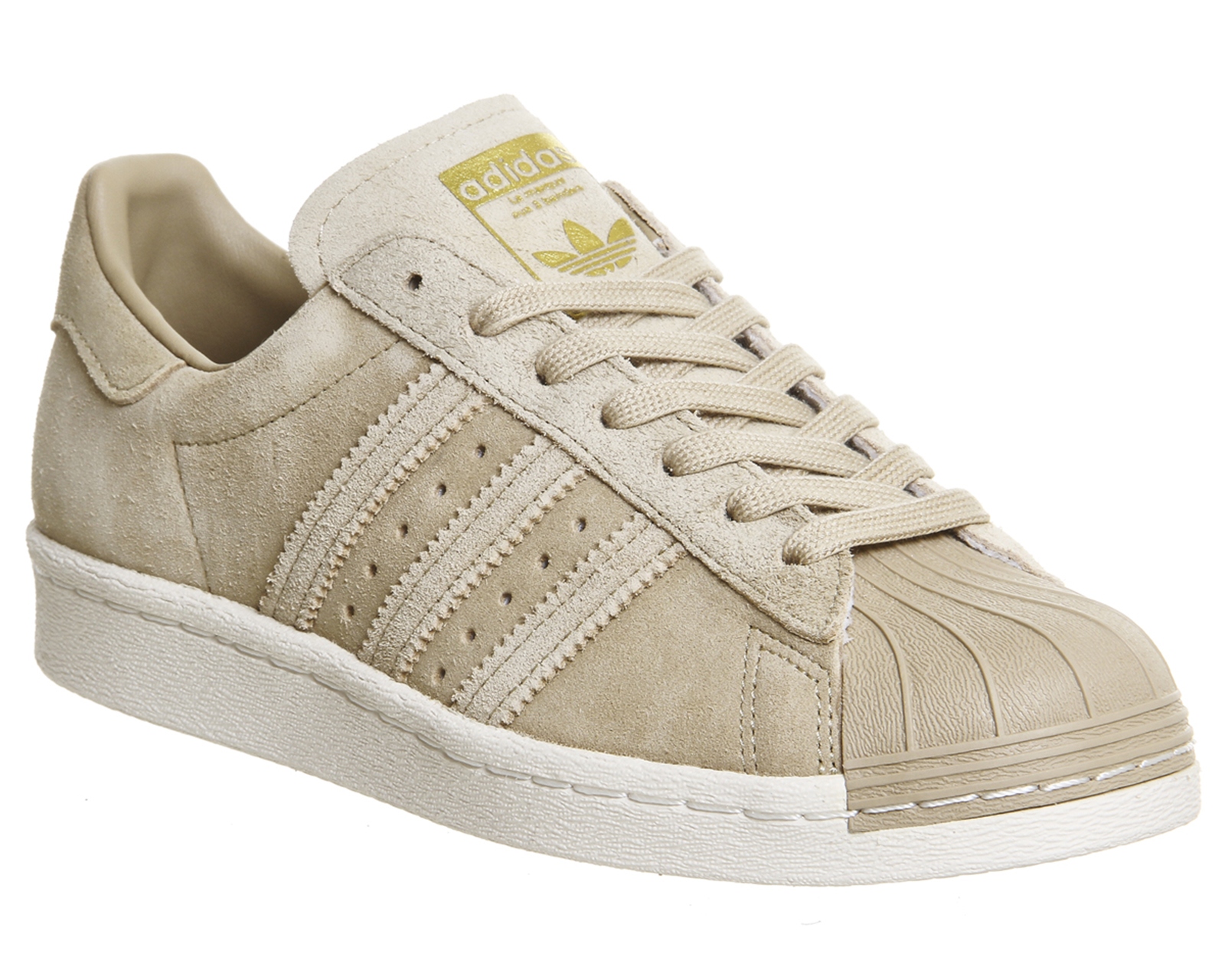 mens adidas superstar 80s linen khaki suede trainers shoes ebay. Black Bedroom Furniture Sets. Home Design Ideas