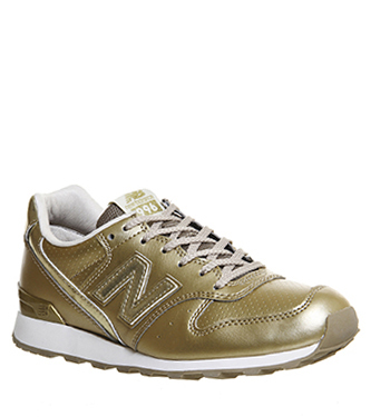new balance 996 beige and gold