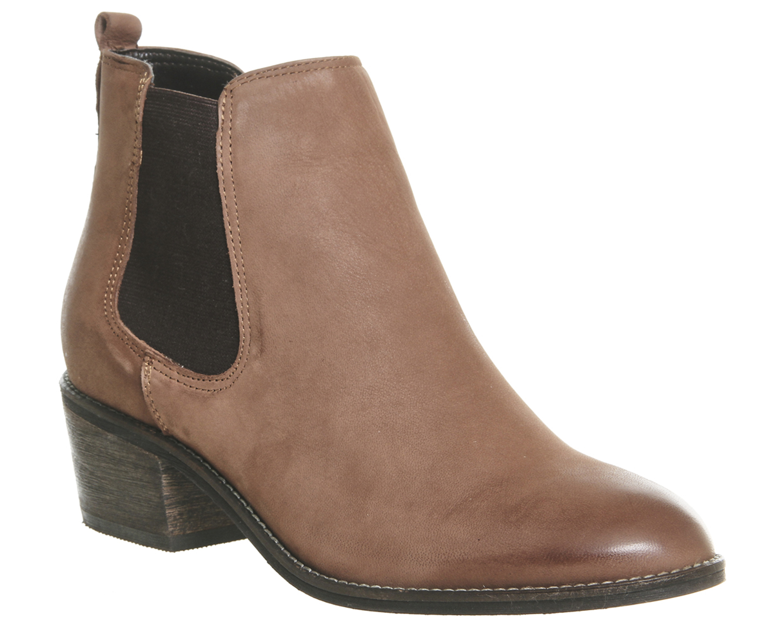 womens office jenkins chelsea boots new brown leather