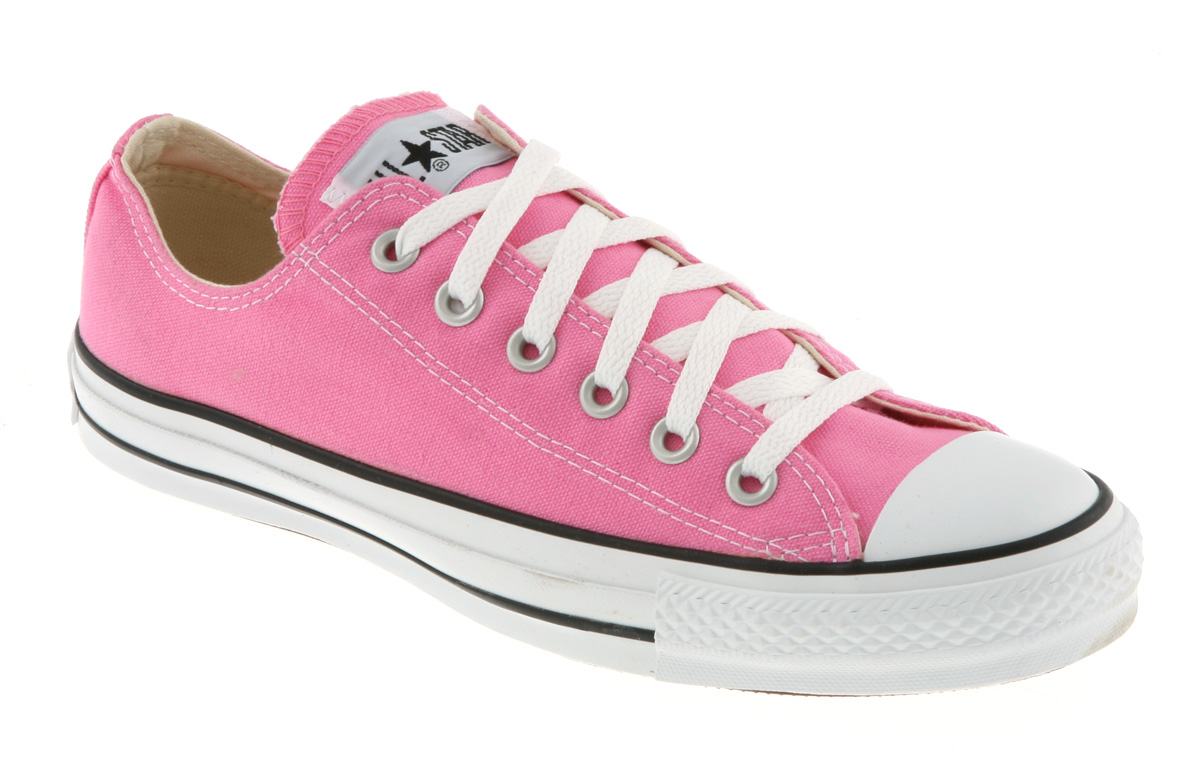 Converse Chuck Taylor All Star Ox Low Pink Canvas Trainer