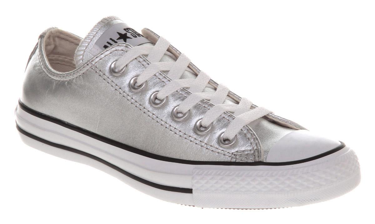 Converse Ox Silver