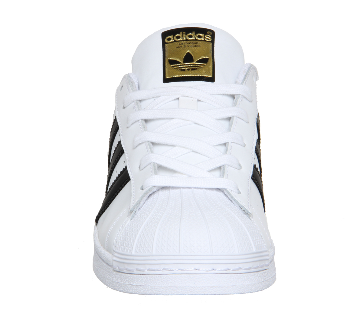womens adidas superstar white black foundation trainers shoes ebay. Black Bedroom Furniture Sets. Home Design Ideas
