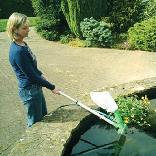 Extending Pool Pond Vacuum Cleaner Hoover Protects Fish Ebay