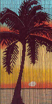 The Hawaiian Home-Bamboo Curtains