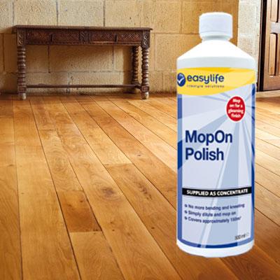 Mopon Polish Wood Vinyl Laminate Floor Cleaner Wax Tool