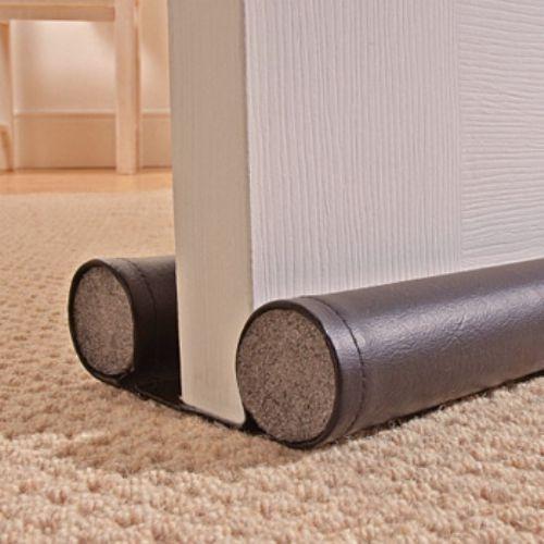 Double sided floor door heat cold dust draught excluder ebay for Door draught excluder