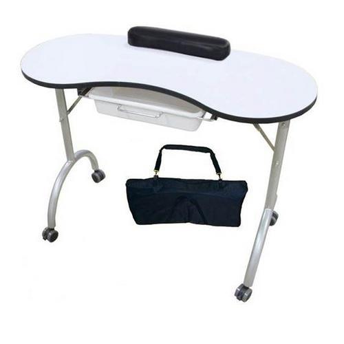 Professional-Manicure-Table-Nail-BarTechnicians-Salon-Desk-Portable-Mobile