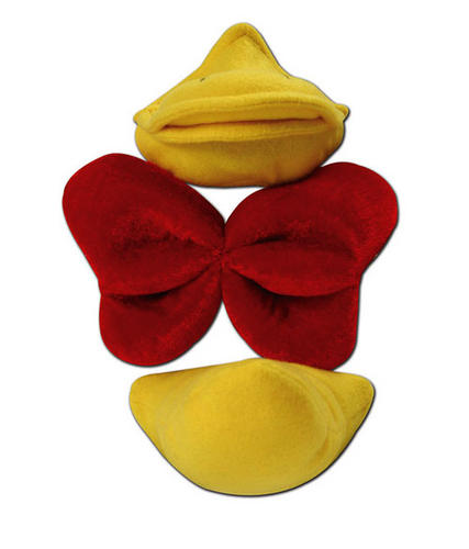 NEW-DELUXE-DUCK-SET-FANCY-DRESS-KIT-WITH-SOUND