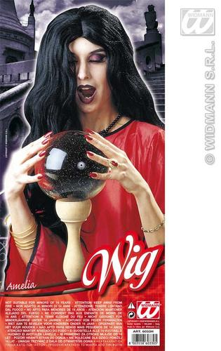 Long-Black-Wig-Morticia-Adams-Witch-Halloween-Fancy-Dress