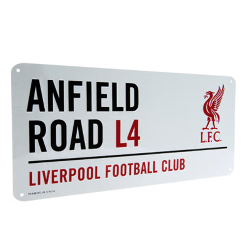 Football-Club-Metal-Street-Sign-Official-Merchandise-Put-On-Wall-Or-Door