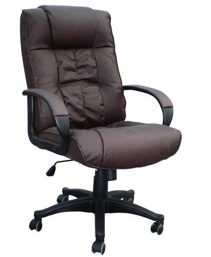 cow split leather high back office chair pc computer desk swivel furniture. Black Bedroom Furniture Sets. Home Design Ideas