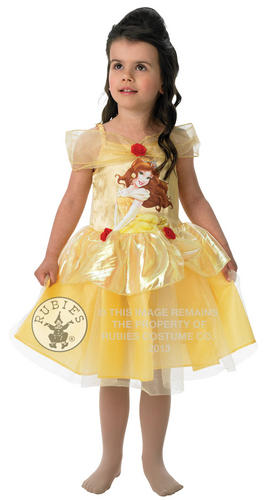 Childrens-Belle-Beauty-The-Beast-Ballerina-Fancy-Dress-Costume-1-2-Yrs