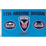 11Th Airborne Flag 5Ft X 3Ft Us Military Army Air Force Division Banner New