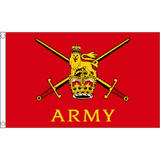 British Army Large Flag 8Ft X 5Ft Armed Forces Day Decoration Banner