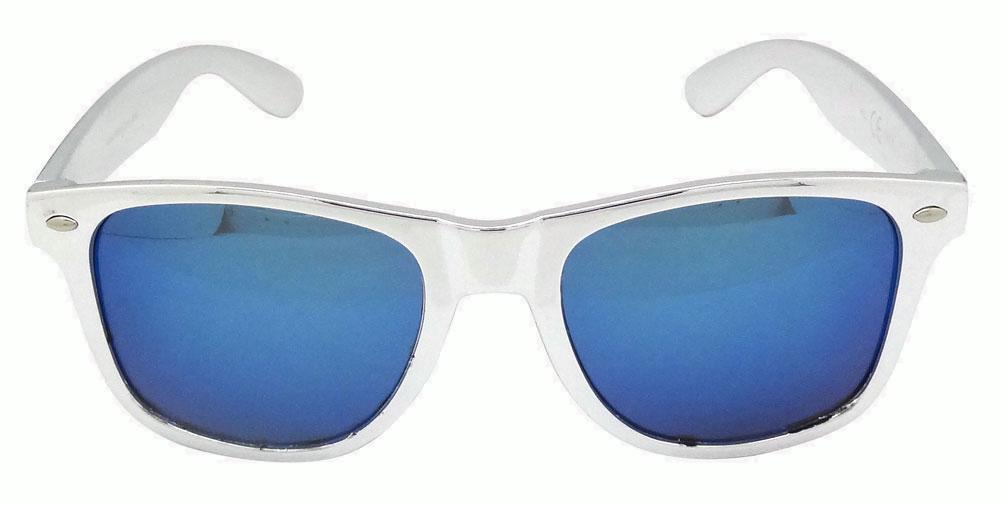 gafas wayfarer espejo azul