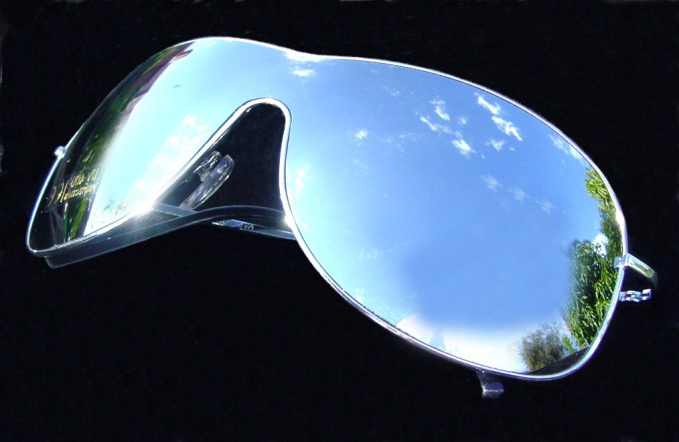 NEW WRAP SKI STYLE MIRROR MIRRORED AVIATOR SUNGLASSES U | eBay