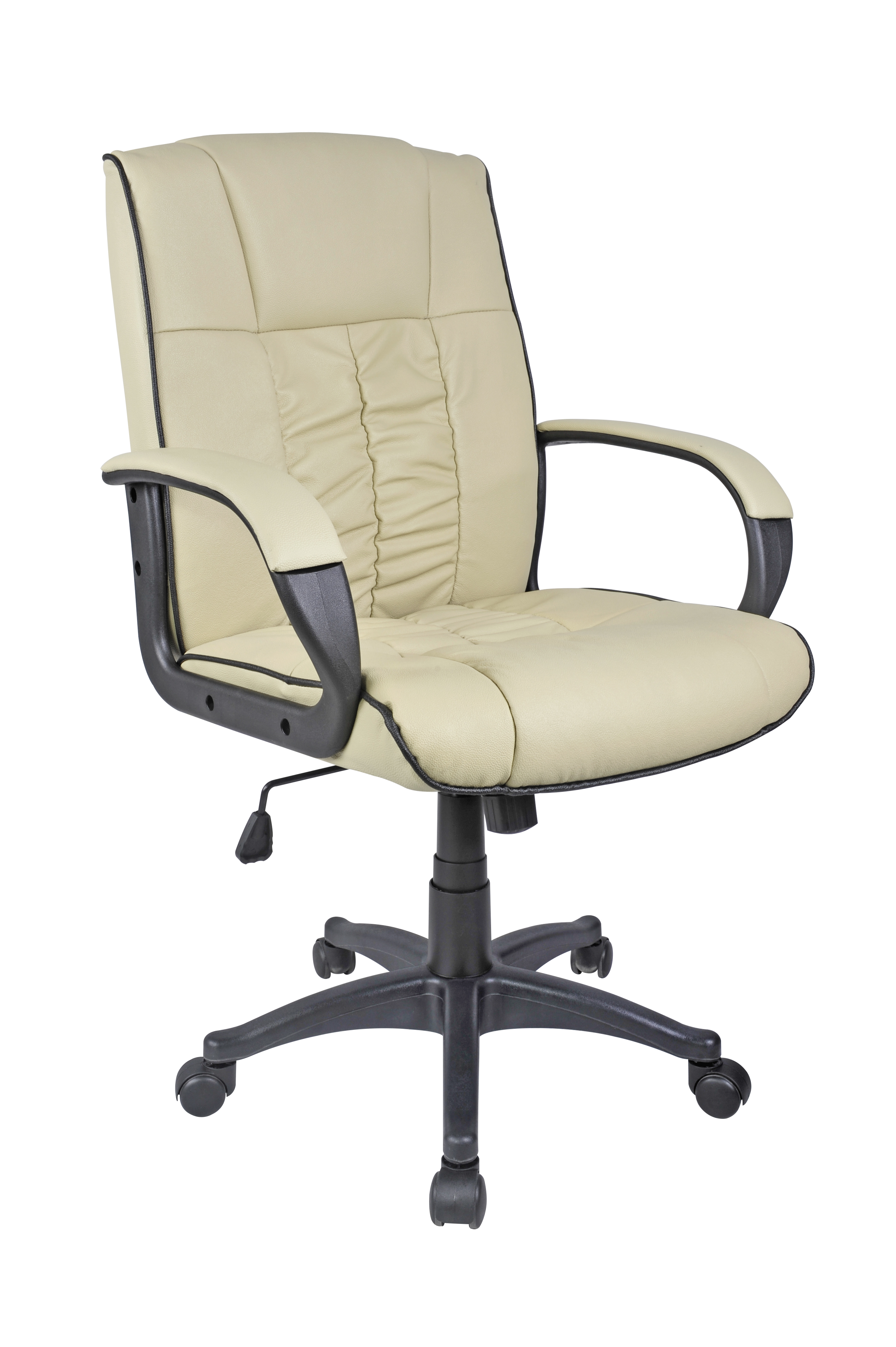 Cow Split Leather High Back fice Chair PC puter Desk