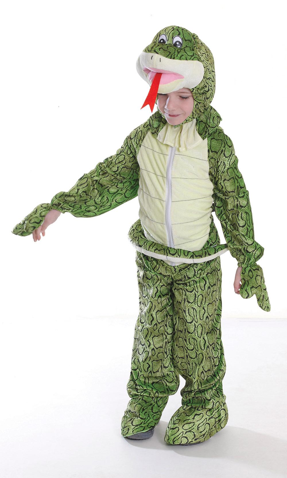 Childrens Snake Fancy Dress Costume 128Cm Jungle Book