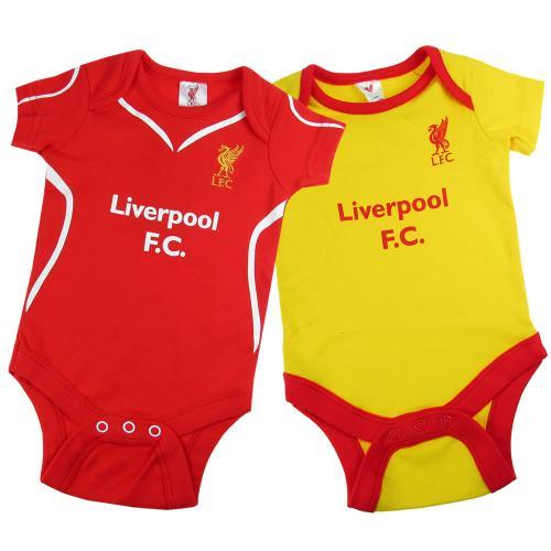 Liverpool Fc Home Kit Baby Childrens Bib Babygrow