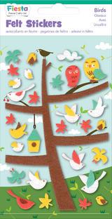 Birds Bird Felt Stickers Sticker Pack Kit Set - Fiesta Crafts