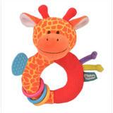 Giraffe Ringaling Baby Teether Soft Toy Comforter Rattle Newborn Gift Boy Girl