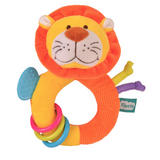 Lion Ringaling Baby Teether Soft Toy Comforter Rattle Newborn Gift Boy Girl