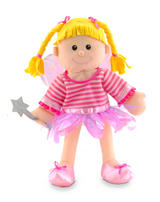 Pink Pixie Fairy Hand Puppet For Theatre & Story Time By Fiesta Crafts