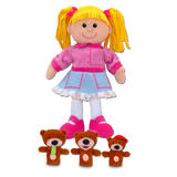 Goldilocks and the Three Bears Hand & Finger Puppet Theatre Kit Set Fiesta Craft