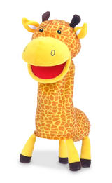 Giraffe Hand Puppet For Story Telling & Role Play Great Childrens Gift